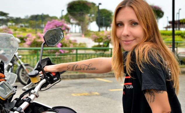 Anna Grechishkina. Foto: motorcycle.com