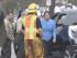 Bruce Jenner luego del accidente. Imagen tomada del video de AP