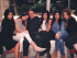 Bruce Jenner en compañía de su familia. Foto tomada del Instagram de Kylie Jenner