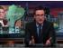 Captura del programa de John Oliver, la noche del 15 de febrero de 2015.
