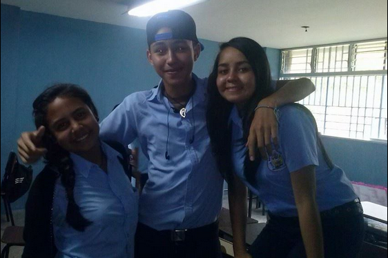 Kluivert Roa, de 14 años, asesinado hoy en San Crsitóbal, Venezuela, durante una protesta contra el presidente Nicolás Maduro.