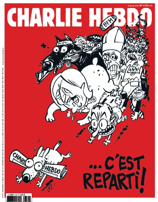Nueva tapa de Charlie Hebdo.