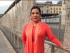 Tania Tinoco en el muro de Berlín. Foto tomada de su Instagram.