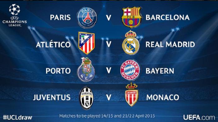 Foto tomada de la cuenta oficial de Twitter de la UEFA (@UEFAcom).