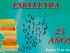 Eskeletra Editorial cumple 25 años. Foto del afiche del evento.