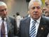 Foto de archivo. Luis Chiriboga junto a dirigentes del fútbol ecuatoriano en la Federación Ecuatoriana de Fútbol. Foto API.