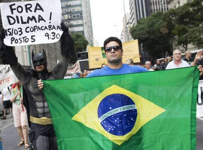 Dilma fuera