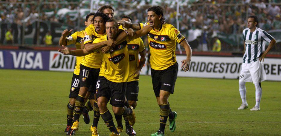 Guayaquil 11 de Marzo del 2015. Barcelona vs Atlético Nacional. Fotos: Marcos Pin / API
