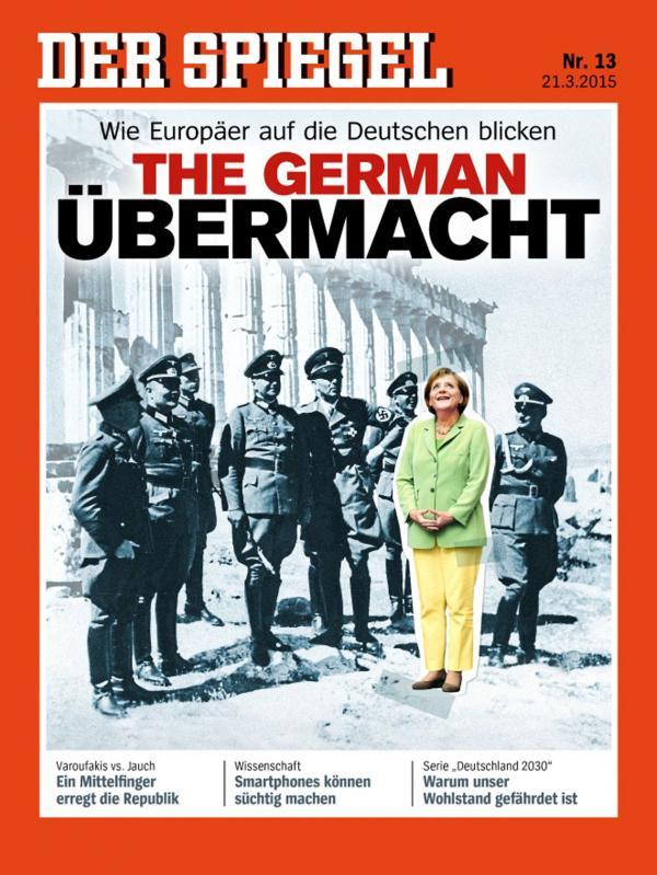 Tapa de Der Spiegel
