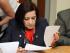 La fiscal subrogante Cecilia Armas. Foto: Fiscalía