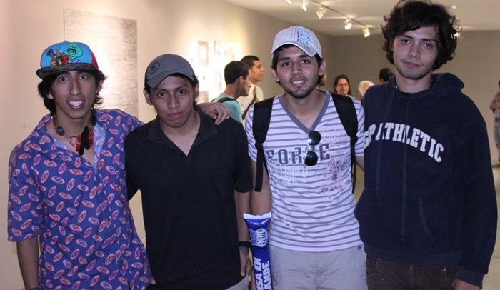 Carlos Figueroa, Paul Quimí, JorgeMorocho y Jair Piguave