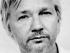 Julian Assange. Foto tuiteada por Wikileaks