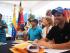 El excandidato presidencial de la oposición venezolana, Henrique Capriles, el 7 de marzo de 2015, en una foto tuiteada desde su cuenta.