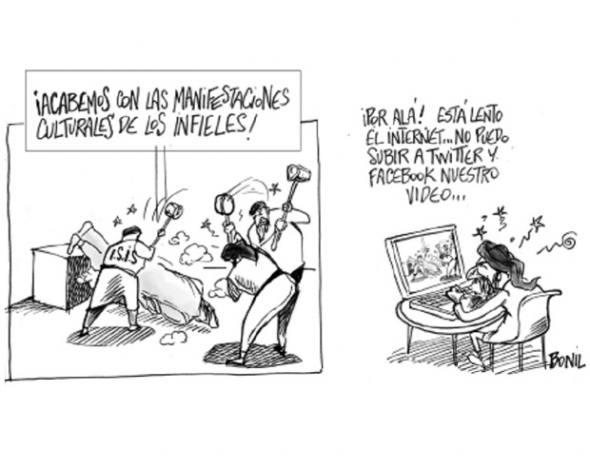 Caricatura de Bonil del pasado 1 de marzo