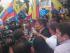 El excandidato presidencial Guillermo Lasso, el 12 de marzo de 2015, en Quito. Foto tuiteada por la cuenta @LassoGuillermo.