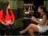 """La """"Samba"""" Alvarado, en una captura del programa #Hashtag, con Olga Álava, el 5 de marzo de 2015."""