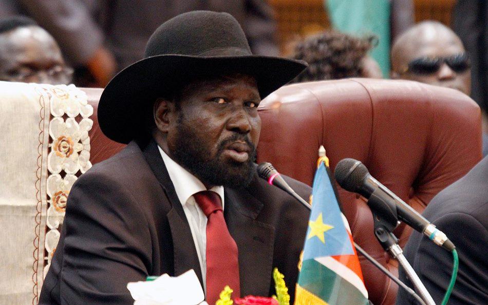 Salva Kiir, presidente de Sudán del Sur