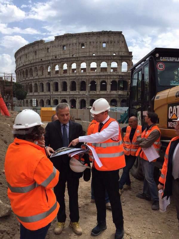 Mauricio Rodas en Roma.