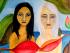Obra de Gisella Iturralde, en su muestra 'Yo soy'. Foto de Pentasiete Art Studio.