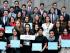 Equipo de la Universidad San Francisco de Quito que integró la Delegación al Modelo de la ONU en Nueva York. Foto de ONUSFQ
