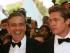George Clooney y Brad Pitt. Foto de www.sheknows.com