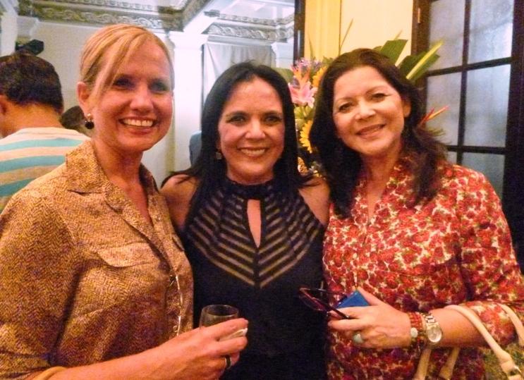 Sylvia Roldós, Iti Vera, María Fernanda Cereceda. Foto: LaRepública.ec