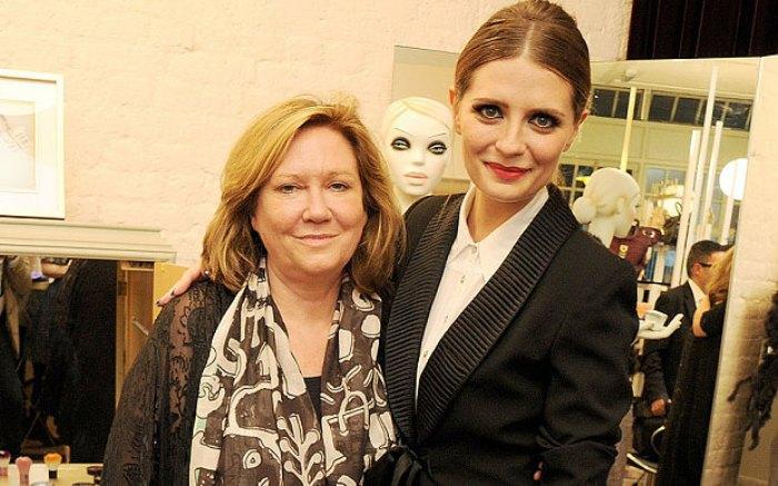 Misha Barton y su madre. Foto: http: i.telegraph.co.uk
