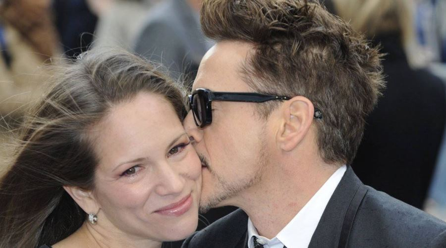 Robert y Susan Downey. Foto: .kurier.at