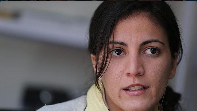 La disidente cubana María Rosa Payá, en una foto difundida en Twitter.