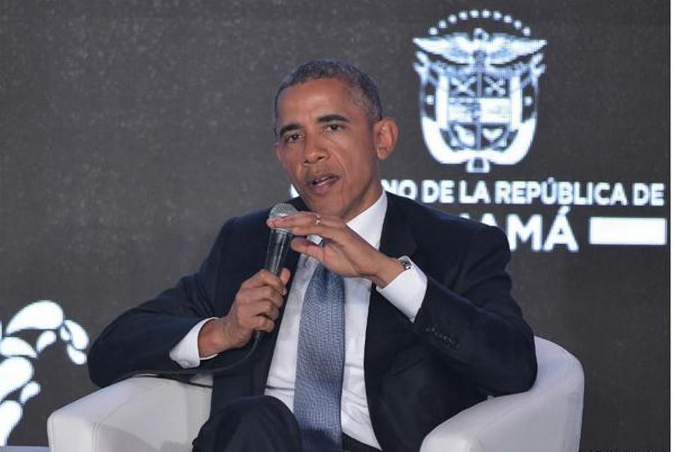 El Presidente Barack Obama en la Cumbre de las Américas, el 10 de abril de 2015.