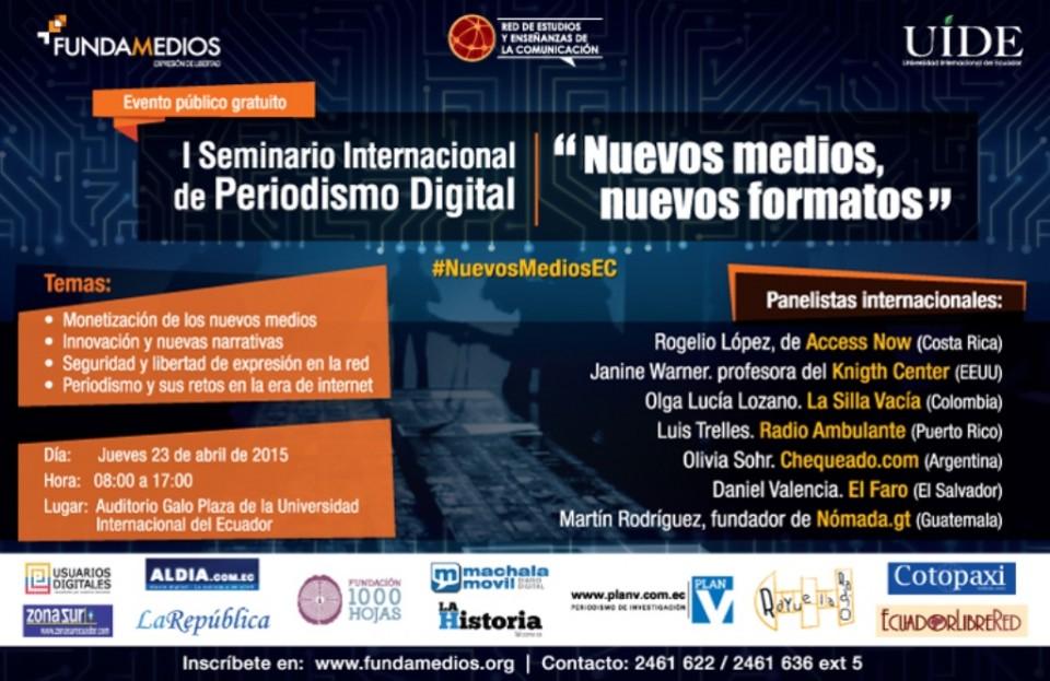seminario periodismo digital