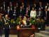 Quito ( Pichincha), 24 de Mayo 2015.- El Presidente de la República, Rafael Correa, dio el Informe a la Nación 2015 en el Pleno de la Asamblea Nacional. Foto: Carlos Silva / Presidencia de la República.