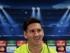 Foto de archivo. El delantero argentino del FC Barcelona, Leo Messi, durante la rueda de prensa que ofreció tras el entrenamiento que la plantilla azulgrana ha realizado esta mañana en la Ciudad Deportiva Joan Gamper, de cara a preparar el partido de ida de las semifinales de la Liga de Campeones, que disputarán mañana ante el Bayern de Múnich en el Camp Nou. EFE/Alberto Estévez.