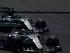 Los pilotos de Mercedes, el británico Lewis Hamilton (abajo) y el alemán Nico Rosberg, durante la segunda tanda de entrenamientos libres del Gran Premio de España que se disputa en el Circuito de Barcelona, en Montmelo. EFE/Alberto Estévez.
