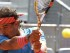 Foto de archivo. El tenista español Rafa Nadal durante el partido frente al búlgaro Grigor Dimitrov, en los cuartos de final del torneo Mutua Madrid Open, que se celebra en la Caja Mágica. EFE/Chema Moya.
