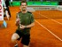 El tenista británico Andy Murray con el trofeo que le acredita vencedor del torneo de tenis de Madrid tras derrotar por 6-3 y 6-2, al español Rafael Nadal en la final disputada hoy en la Caja Mágica, en Madrid. EFE/JuanJo Martin.