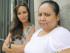 """MADRID. 14/05/2015.- La periodista Elena Ortega (i), y la activista mexicana Malú García Andrade, hermana de Alejandra García Andrade, que tenía 17 años cuando desapareció en febrero de 2011 en Ciudad Juárez, una de las ciudades más violentas del mundo y en la que, durante la semana que duró su secuestro, """"la violaron, la torturaron y la mutilaron"""", durante la entrevista que hoy concede a EFE. EFE/Ballesteros"""