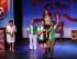 """QUI01. QUITO (ECUADOR), 17/05/2015.- Fotografía del 15 de mayo de 2015 de los siete actores ecuatorianos de la adaptación ecuatoriana """"Ladies Night, una noche sinvergüenza"""" (de izquierda a derecha) José Pacheco, Eduardo Mosquera, Alex Altamirano, Mariliz Romero, Alfredo Espinosa. Los actores apelando al humor propio, han llevado a las tablas una adaptación de la comedia teatral """"Ladies Night"""" (1987), similar a la que en 1997 alcanzara el éxito de taquilla """"Full Monthy"""", una producción inglesa sobre el """"strip"""" masculino. EFE/José Jácome"""