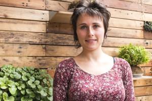 Ariadna Ribas, documentalista catalana y realizadora de 'Yo amo tu guerra'.