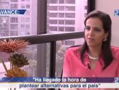 María Paula Romo, decana de Derecho de la Universidad Internacional. Foto de Archivo, La República.