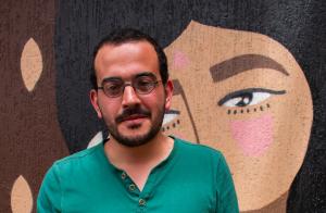 Director colombiano Nicolás Mejía, realizador de 'Marina'.
