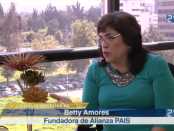 Betty Amores, ex asambleísta. Foto de La República.