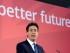 En esta imagen de archivo, tomada el 17 de abril de 2015, el líder del Partido Laborista británico, Ed Miliband, interviene en la presentación del manifiesto de su partido para los jóvenes, en Lincoln, Inglaterra. (Stefan Rousseau/PA via AP, archivo)