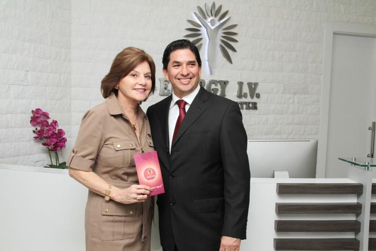 Isabel Noboa y Carlos Chiriboga.