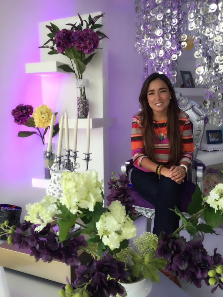 Lorena Weisson, microempresaria guayaquileña
