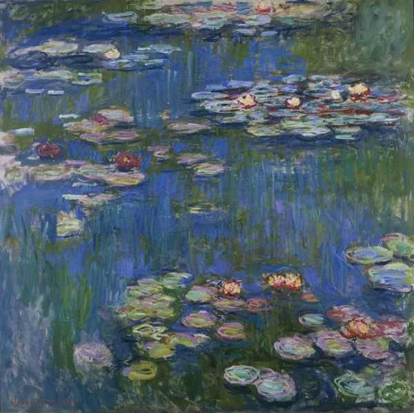 Lirios Acuáticos, de Monet