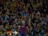 El delantero argentino del FC Barcelona Leo Messi, tras marcar el primer gol ante el Athletic de Bilbao, durante la final de la Copa del Rey de fútbol que se juega esta noche en el Camp Nou, en Barcelona. EFE/Juan Carlos Hidalgo.