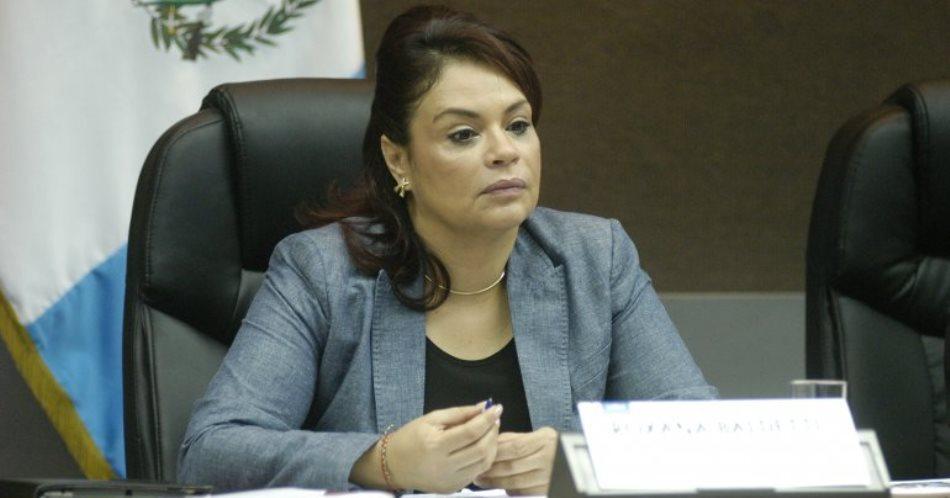 Roxana Baldetti, ex vicepresidenta de Guatemala.