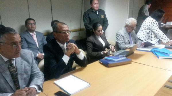 Audiencia contra la asambleísta de AP. Foto: Fiscalía General
