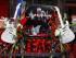 Flores fuera del club de B.B. King en Beale Street en Memphis, el miércoles 27 de mayo de 2015. King murió el 14 de mayo en Las Vegas. Tenía 89 años. Los amigos y admiradores rendían homenaje a B.B. King el viernes 29 de mayo en el delta del Mississippi, la tierra que vio nacer a la leyenda del blues.(Foto AP/Karen Pulfer Focht)